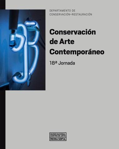 c20f098c5fcde 18ª Jornada. Conservación de Arte Contemporáneo by Museo Reina Sofía ...