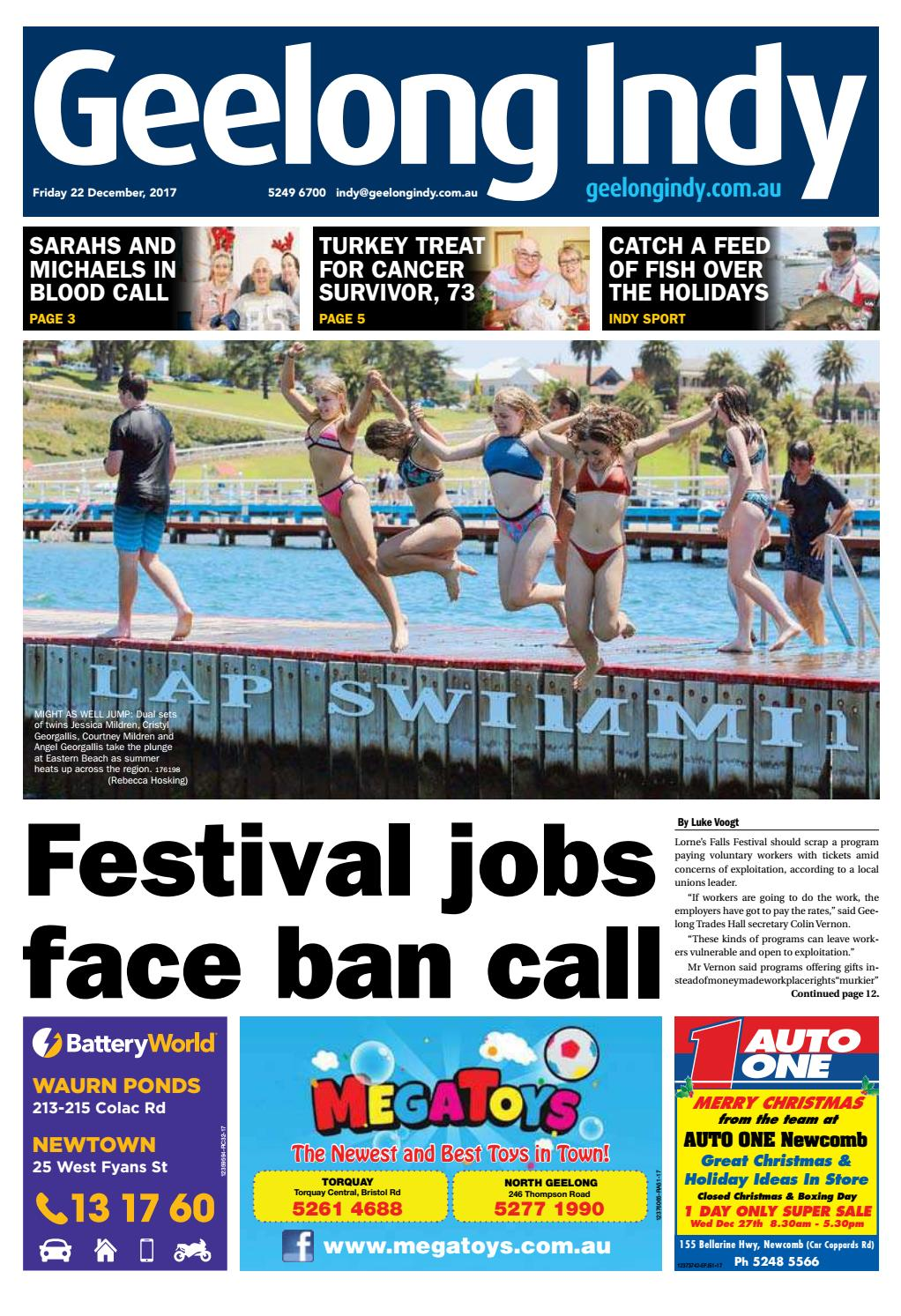 Geelong Indy - 22nd December 2017 by Star News Group - issuu