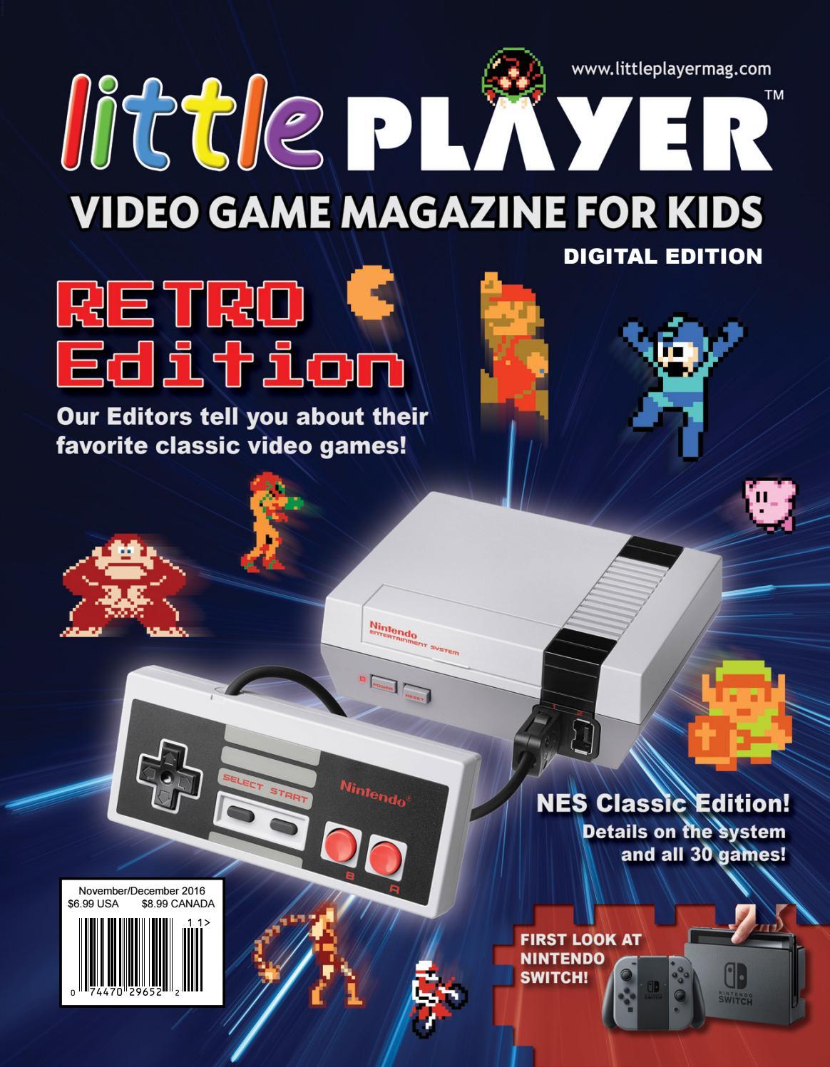 Little Player - Video Game Magazine for Kids - 04 Digital