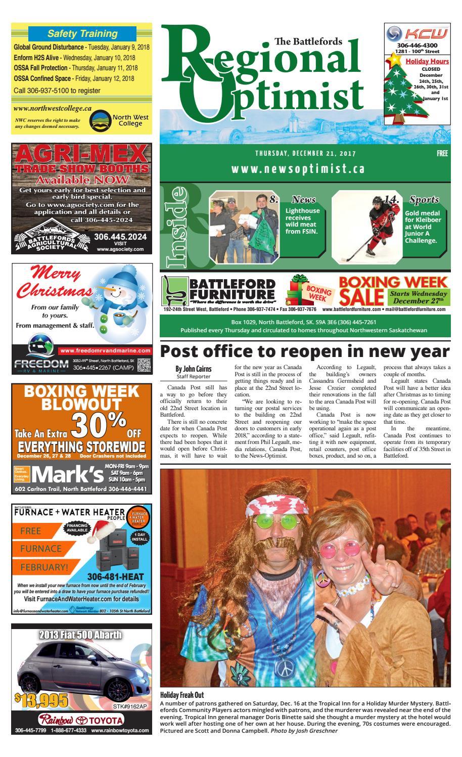 brand new f602a 13385 Regional Optimist December 21 by Battlefords News Optimist -