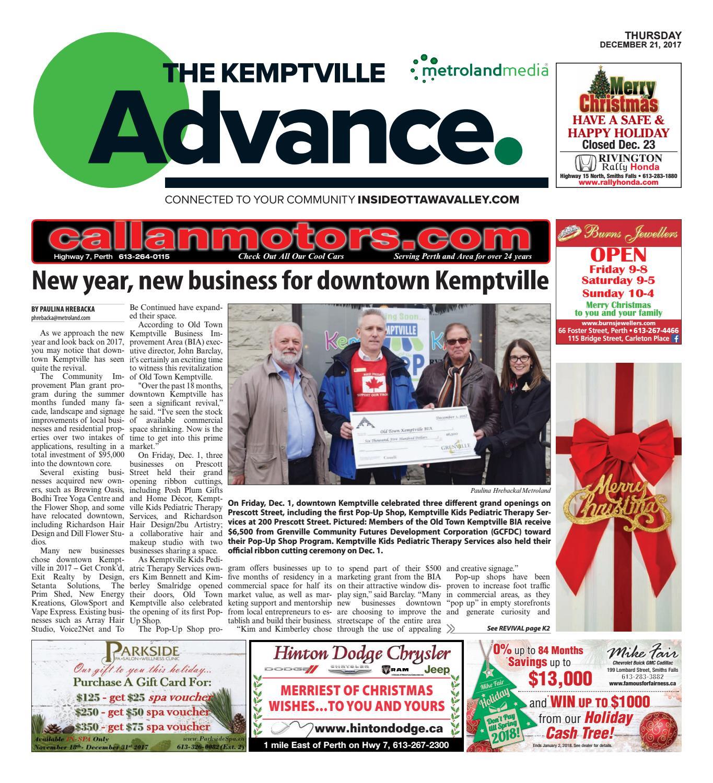 19914d48e3949 Kemptville122117 by Metroland East - Kemptville Advance - issuu
