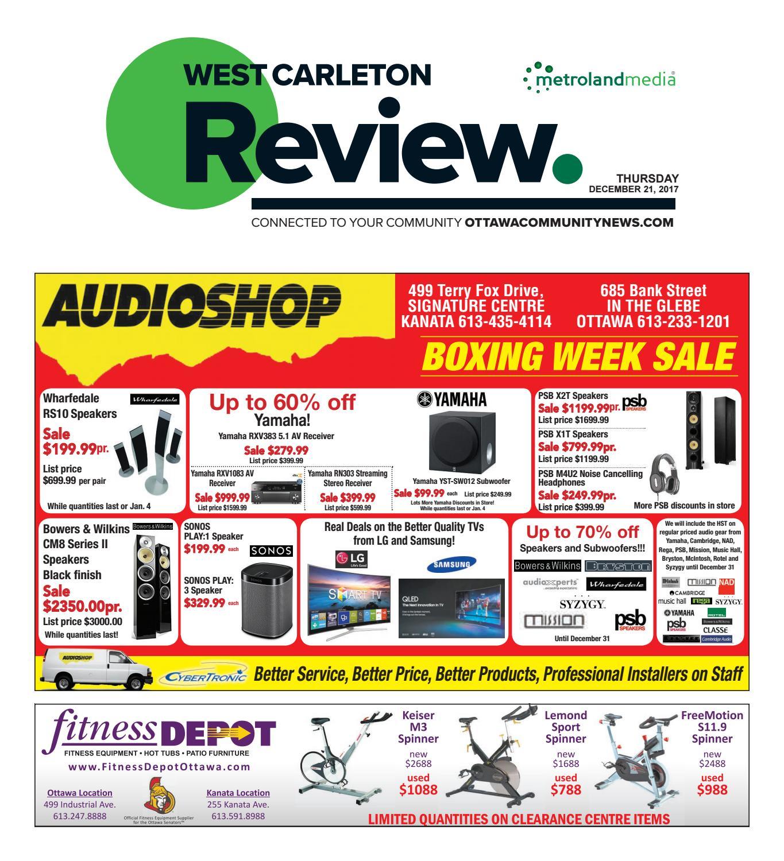 Westcarleton122117 by Metroland East - West Carleton Review - issuu