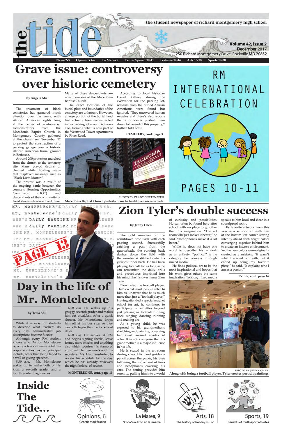 The Tide - December 2017 by Tide Editors - issuu