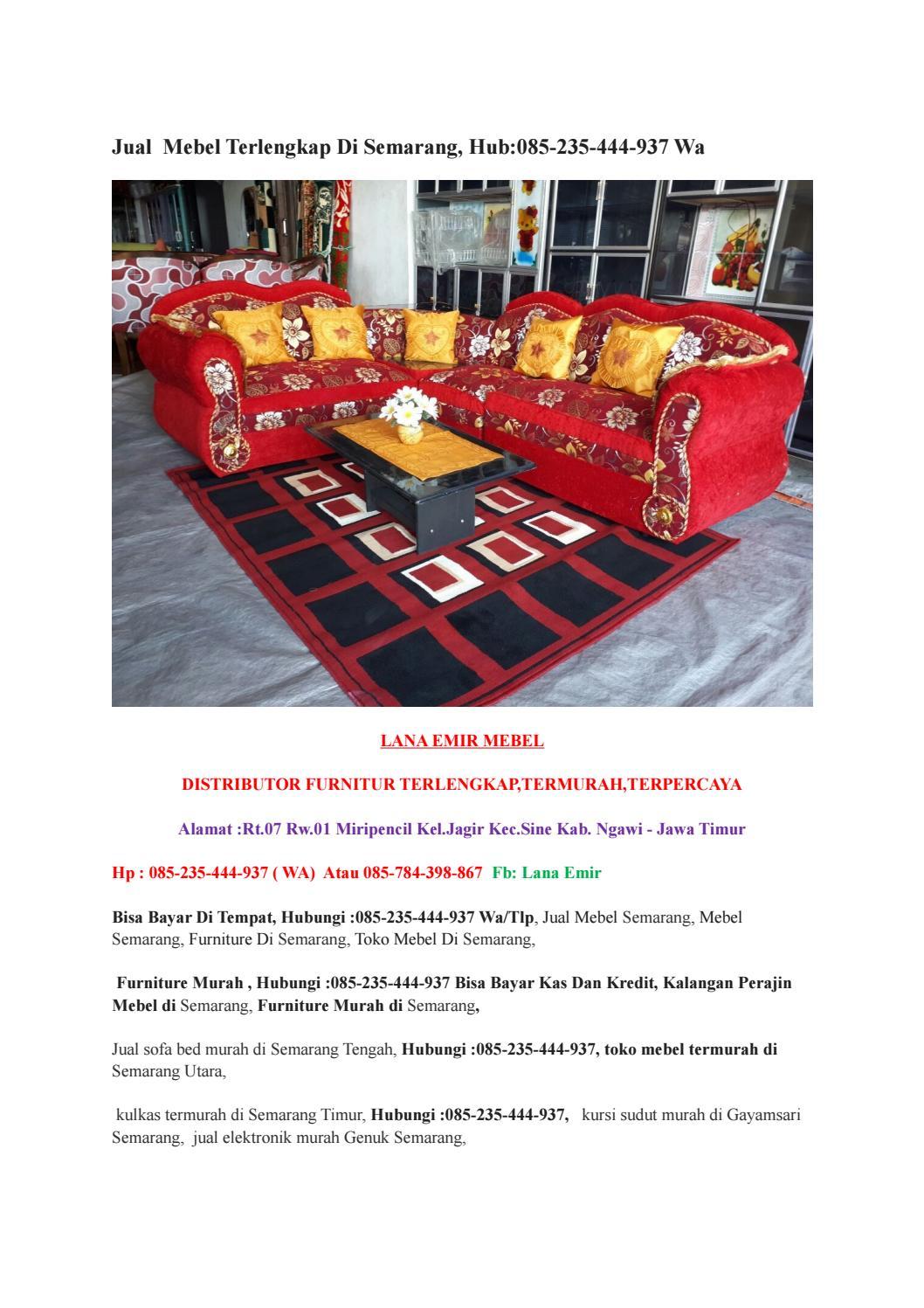 Toko Furniture Termurah Di Semarang Hub 085 235 444 937 Wa By