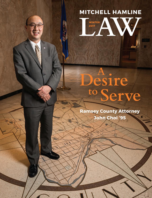 Mitchell Hamline Law Winter 2017 by Mitchell Hamline School of Law - issuu