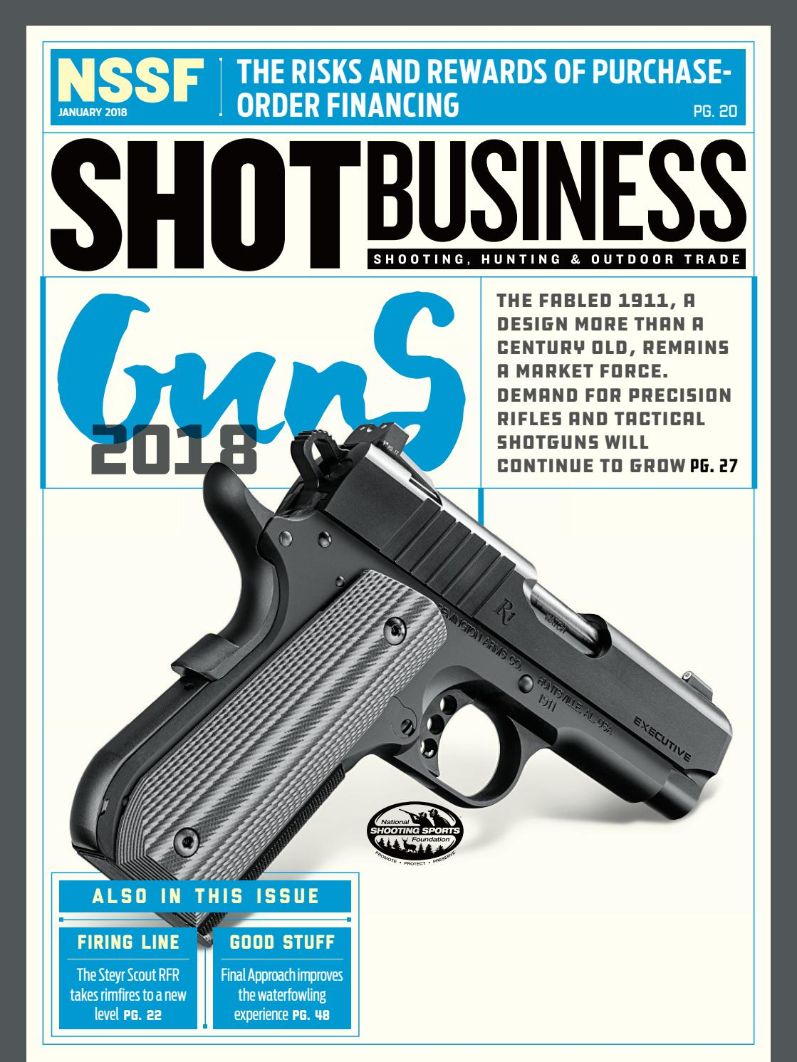 NSSF SHOT Business -- January, 2018 by SHOT Business - issuu