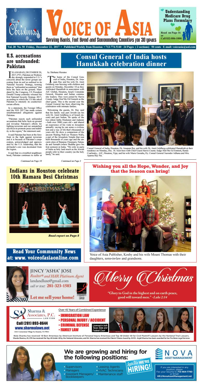 Voice of Asia E paper December 20, 20 by VoiceOf Asia   issuu