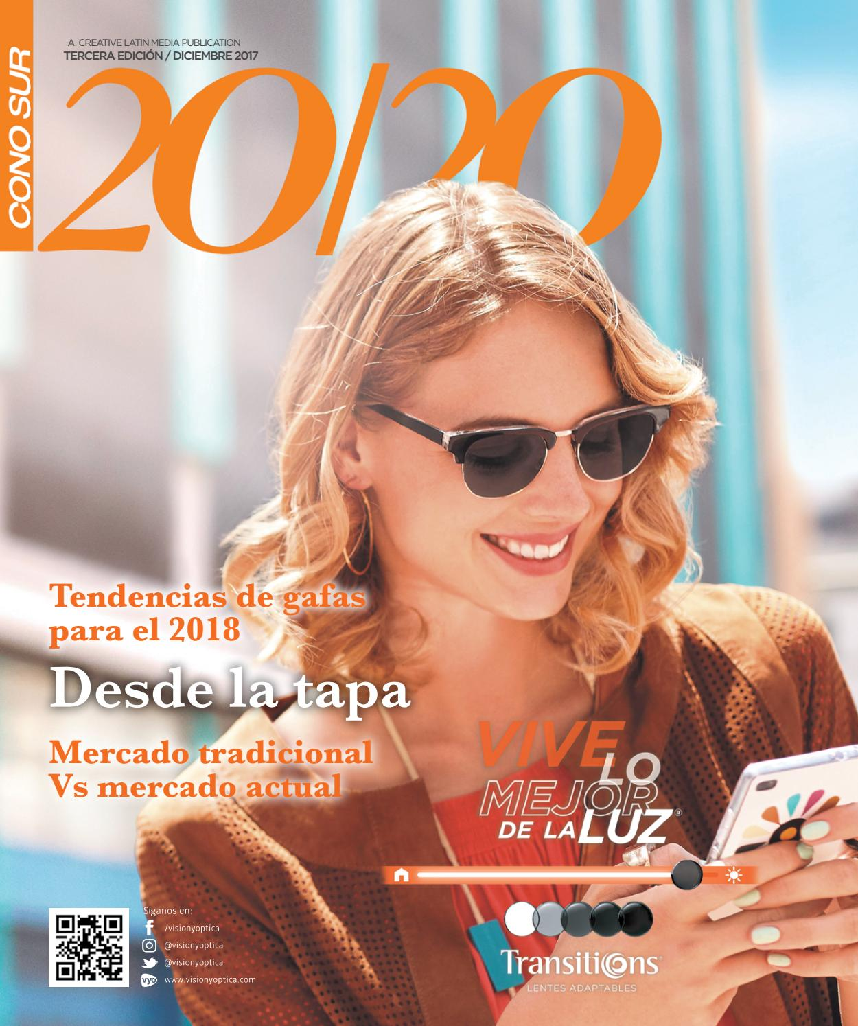 ea29422c10 Revista 20/20 Cono Sur Tercera Edición by Creative Latin Media LLC - issuu