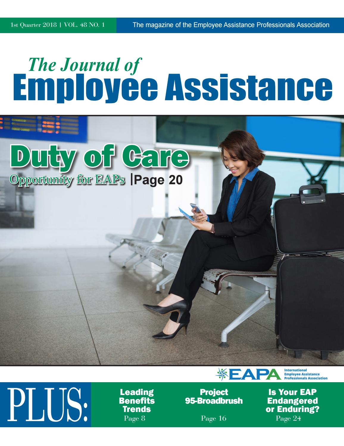 Jea vol48no1 1stqtr2018 by employee assistance professionals jea vol48no1 1stqtr2018 by employee assistance professionals association issuu xflitez Image collections