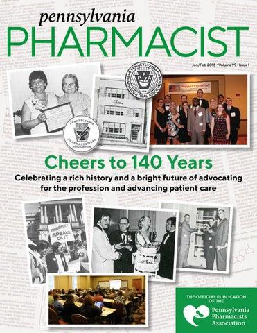 Pennsylvania Pharmacist January February 2018 By Graphtech Issuu