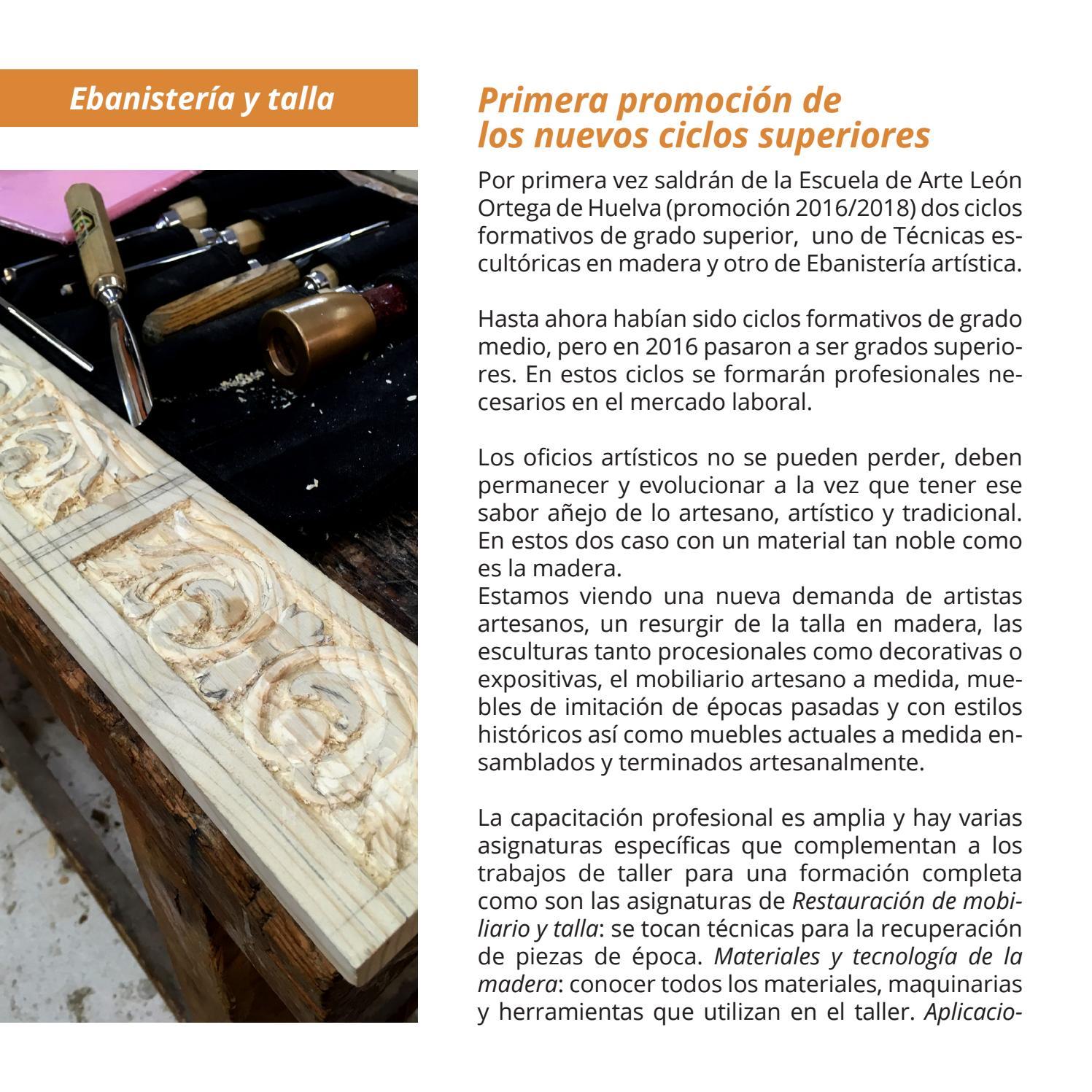 Revista Matadero 17 By Escuela De Arte León Ortega De Huelva