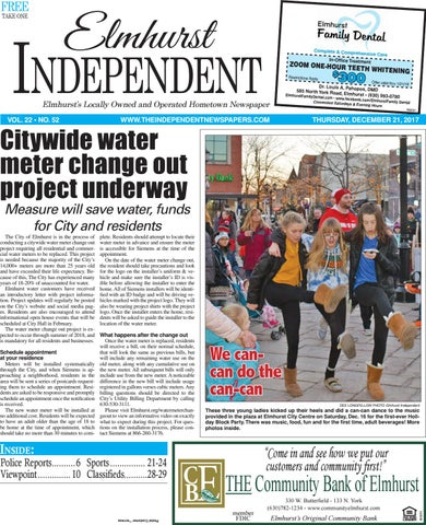 Ei 12 21 17 By Southern Lakes Newspapers Rock Valley Publishing
