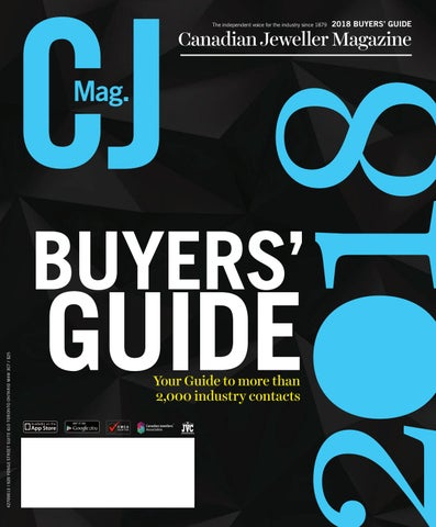50b285ca930d CJ 2018 Buyers  Guide Preview by Canadian Jeweller Magazine - issuu