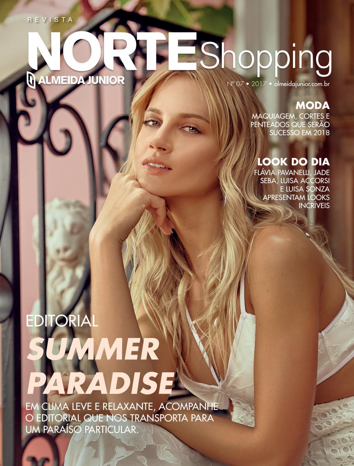 33ab632bd Revista Norte Shopping by Almeida Junior - issuu