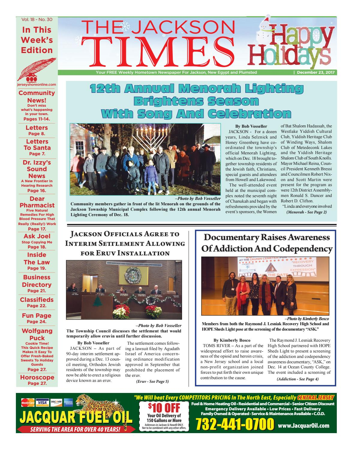 ccc2274656d 2017-12-23 - The Jackson Times by Micromedia Publications Jersey Shore  Online - issuu