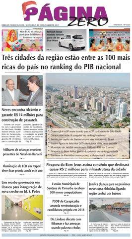 Página Zero Edição nº 1323 (22 12 2017) by Para acessar o seu Página ... eeca47b48ea