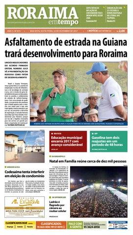 87fb52f182 Jornal roraima em tempo – edição 815 by RoraimaEmTempo - issuu