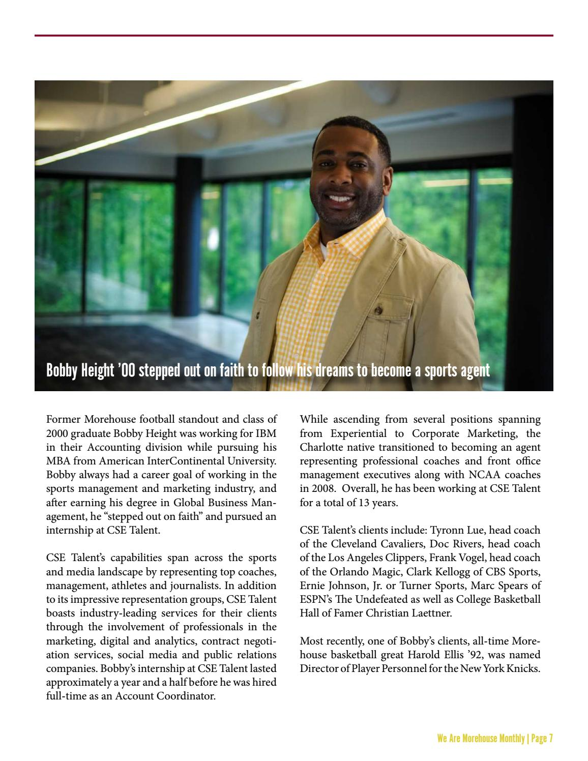 We Are Morehouse Monthly December 2017 By Morehouse College Office Of Alumni Engagement Issuu