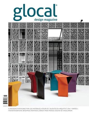 04e181be2 GLOCAL DESIGN MAGAZINE No. 41 Portada por / Cover by: Atelier OÏ by ...