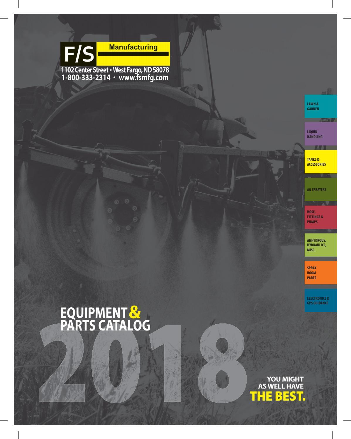 2018 Fs Manufacturing Catalog Final By Fsmfg Issuu Wiring Harness For Atv Sprayer