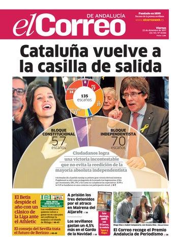 d505fb856fe 22.12.2017 El Correo de Andalucía by EL CORREO DE ANDALUCÍA S.L. - issuu