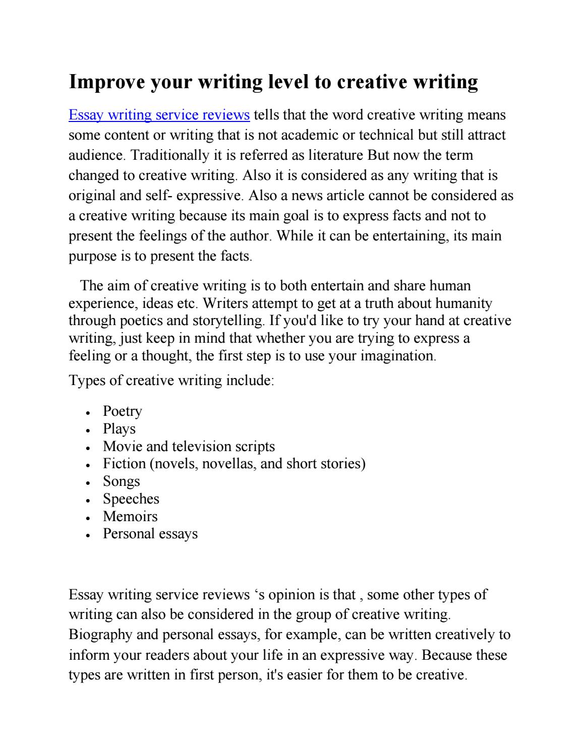 Original writing service
