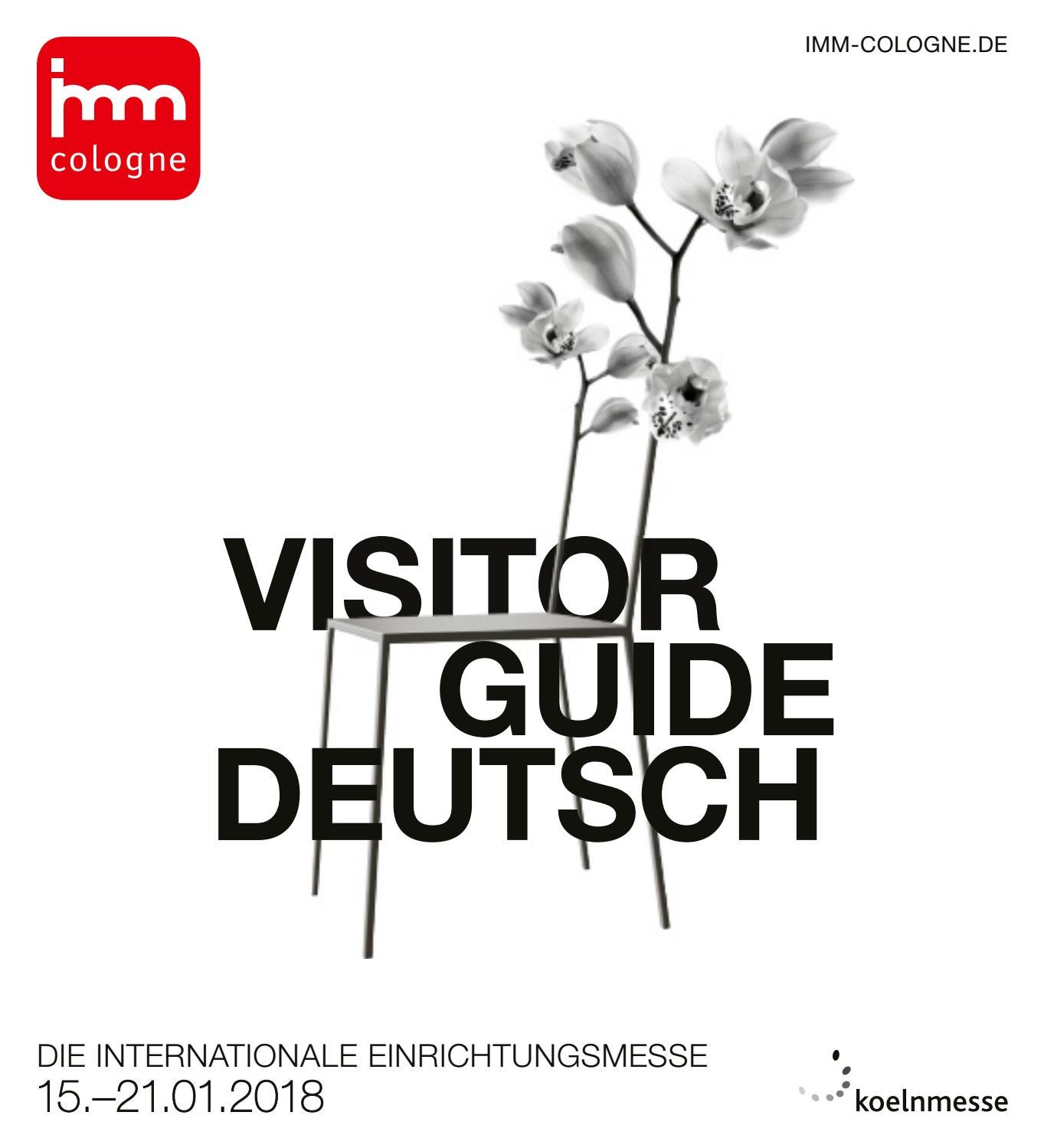 Toll Elegant Imm Cologne 2018 Visitor Guide D By Koelnmesse GmbH Issuu