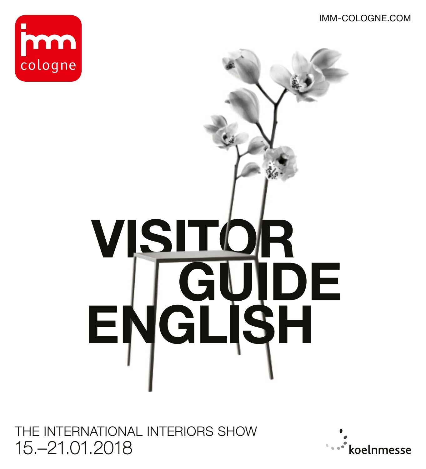 Imm Cologne 2018 Visitor Guide English By Koelnmesse Gmbh Issuu
