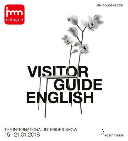 Imm cologne 2018 visitor guide english by koelnmesse gmbh for Mobilia germany