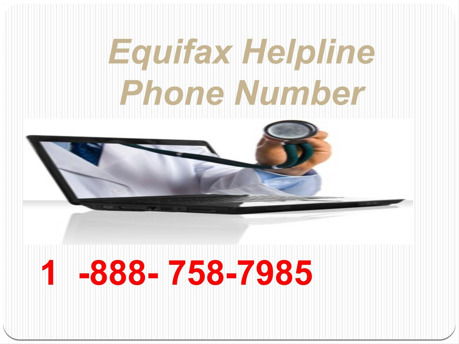 phone number for equifax