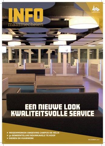 Gemeente Maasmechelen Infoblad December 2017 By Gemeente