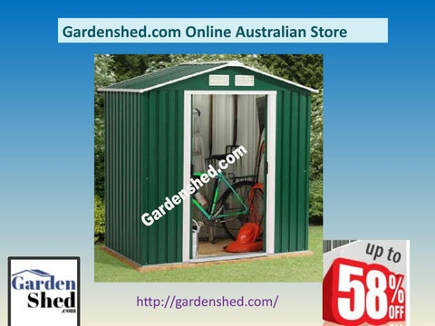 Gardenshed com is The Absco Garden Sheds Online Store  by