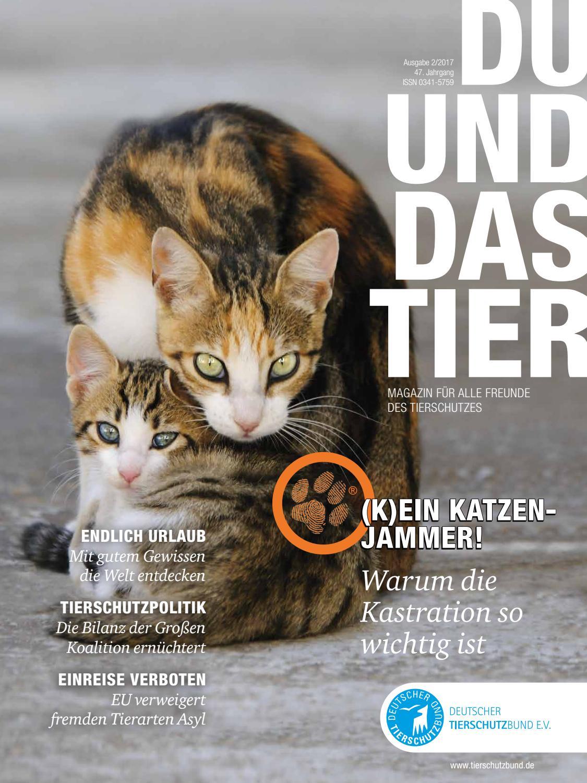 DU UND DAS TIER 02/2017 by DU UND DAS TIER, Deutscher Tierschutzbund ...