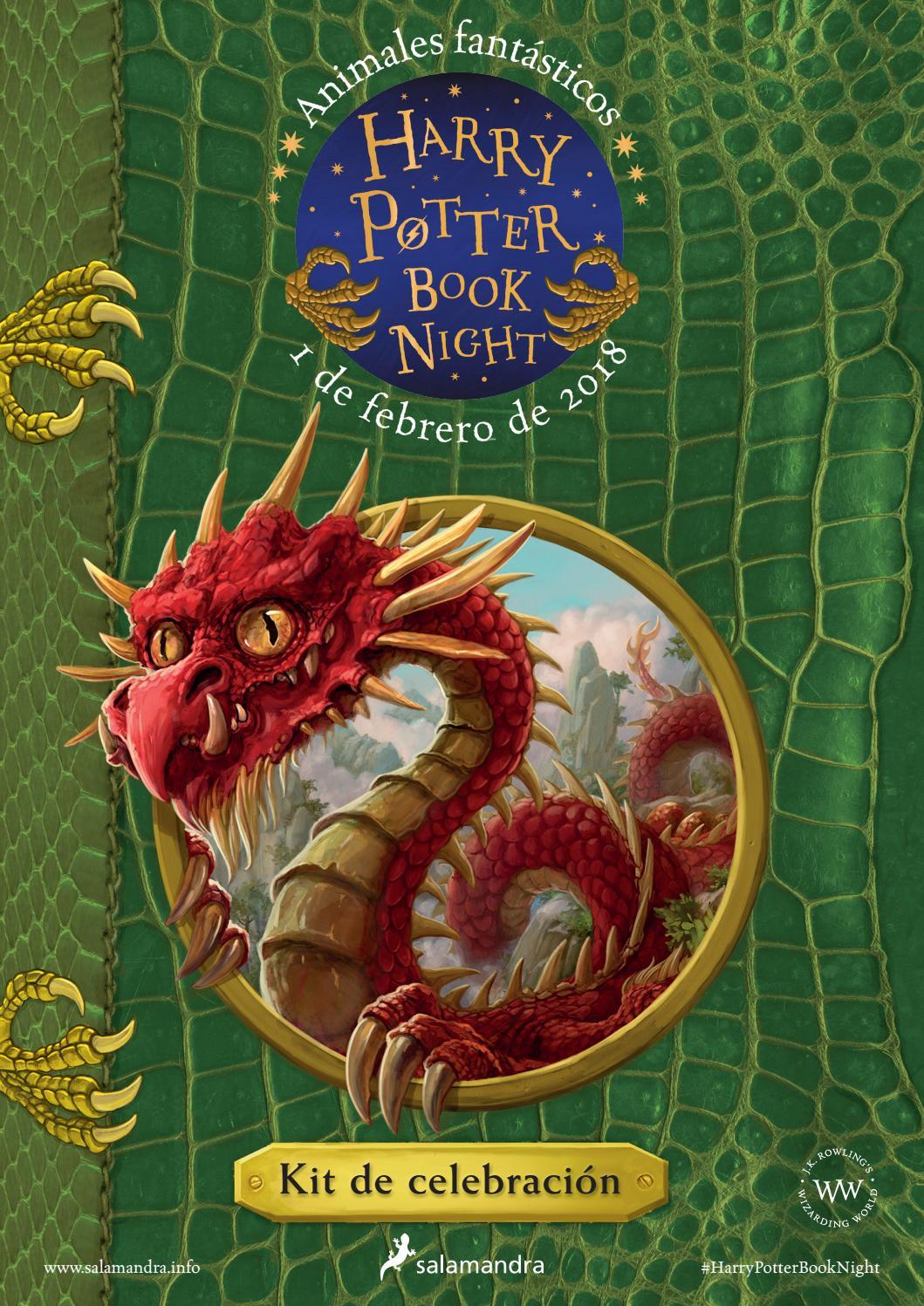Harry Potter Book Night 2018 By Ediciones Salamandra Issuu