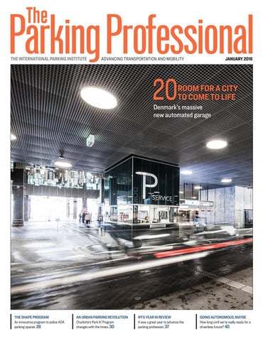 The Parking Professional January 2018