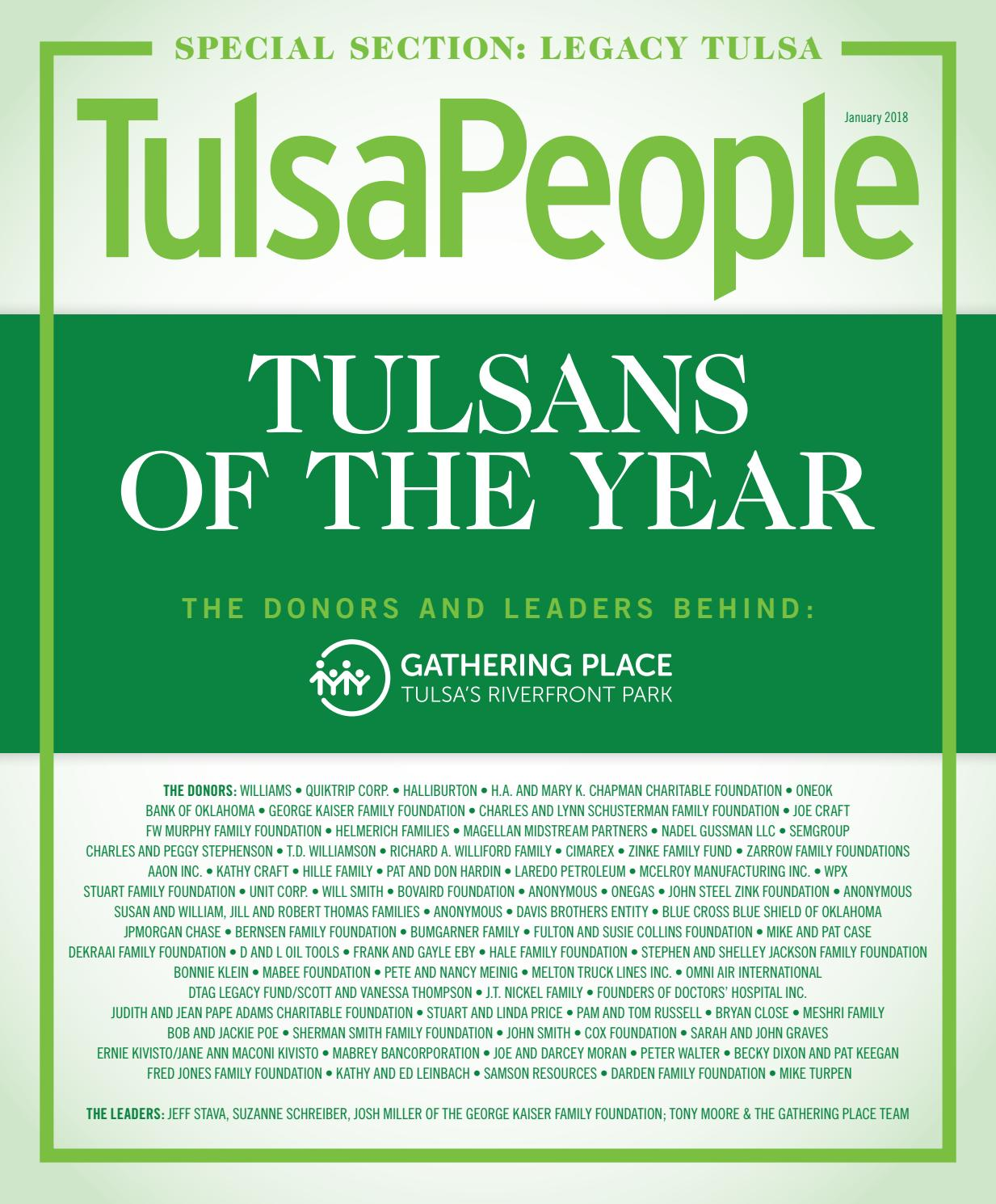TulsaPeople January 2018 By