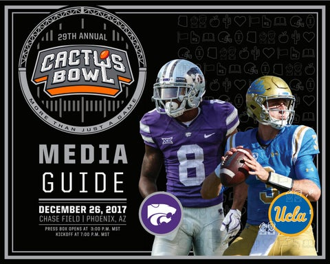 a431c901a9b 2017 Cactus Bowl Media Guide by Fiesta Bowl - issuu