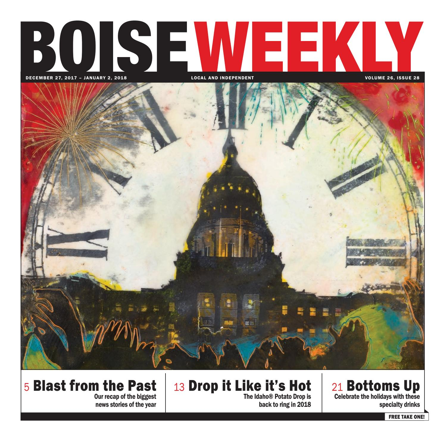 Boise Weekly Vol 26 Issue 28 By Issuu Dat Irina Brown Ballerina