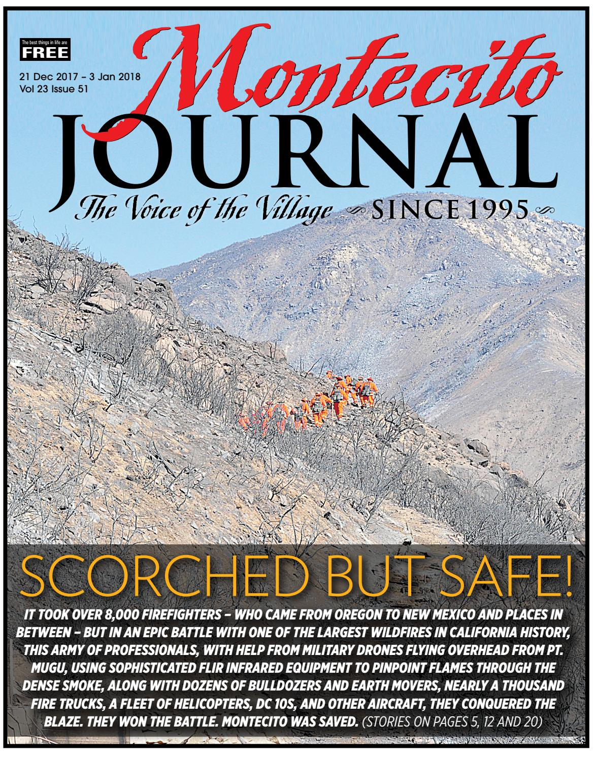 Scorched but Safe by Montecito Journal - issuu