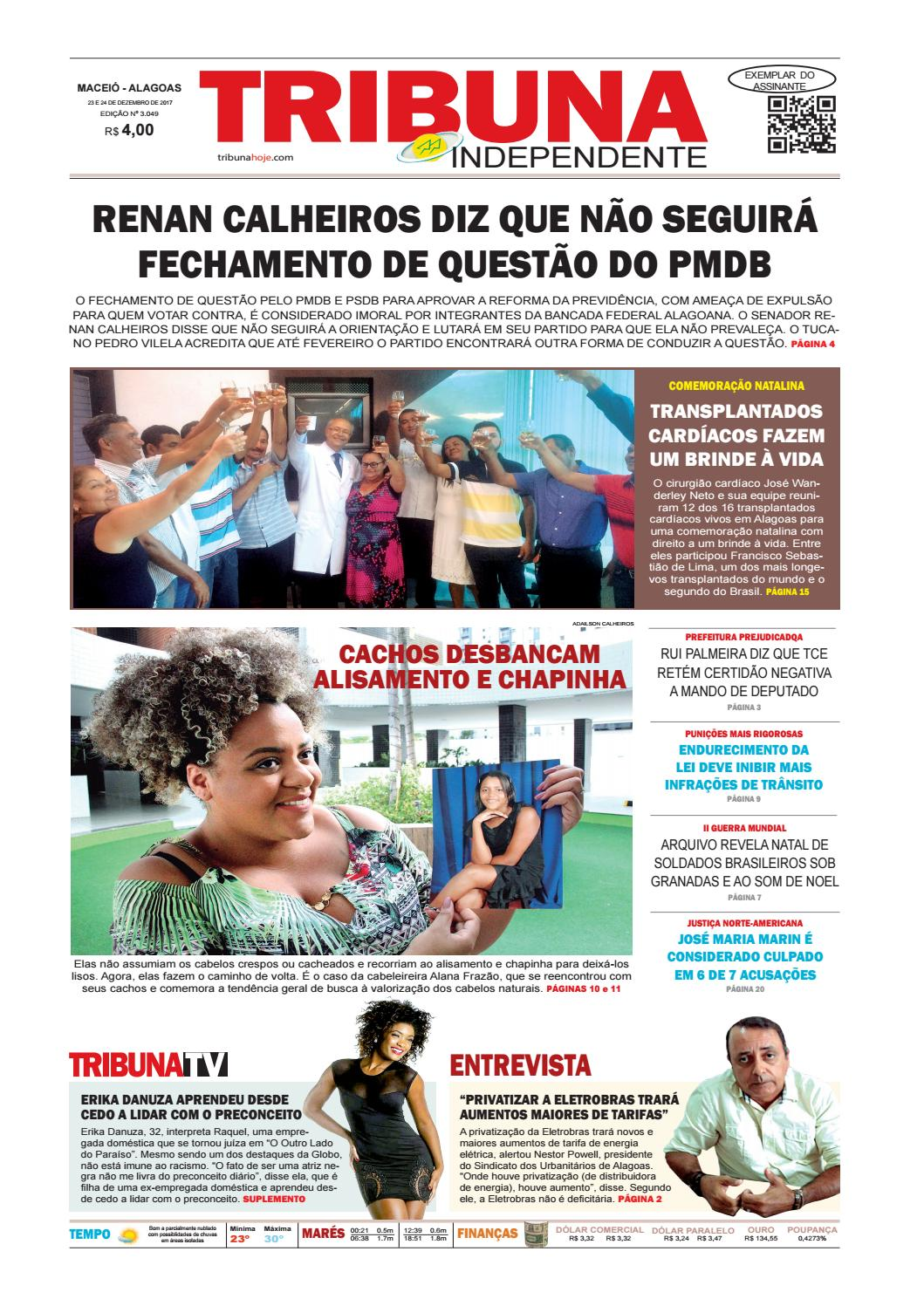 f0e769f321aef Edição número 3049 - 23 e 24 de dezembro de 2017 by Tribuna Hoje - issuu