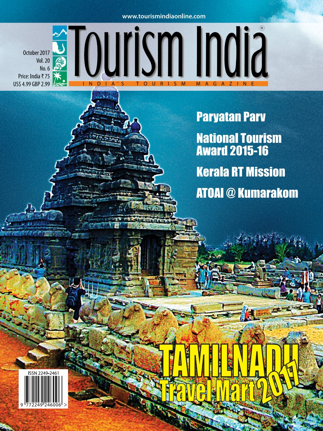 TOURISM INDIA OCTOBER 2017 by TOURISM INDIA - issuu
