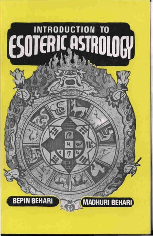 Behari Esoteric Astrology by Bepin Behari and Madhuri Behari by