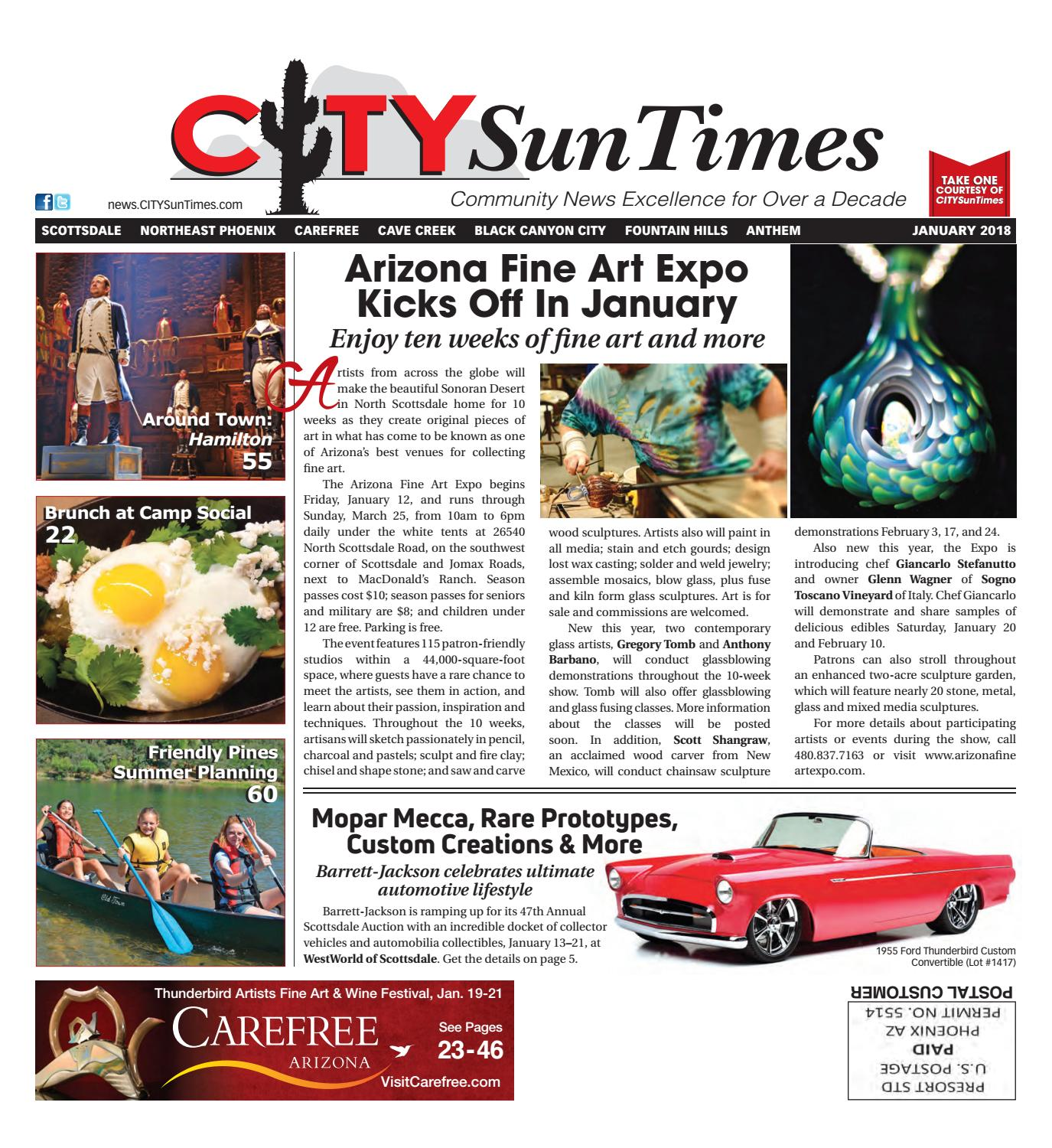 North Valley January 2018 Issue of CITYSunTimes by Jenifer