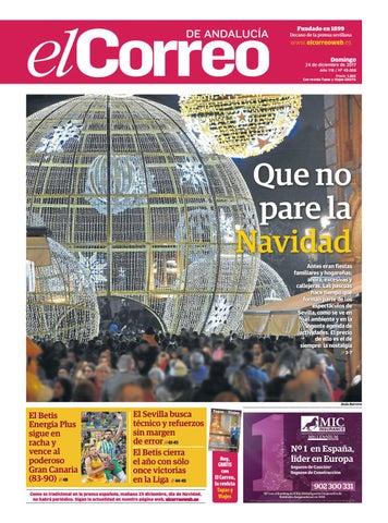 70e54734566 24.12.2017 El Correo de Andalucía by EL CORREO DE ANDALUCÍA S.L. - issuu