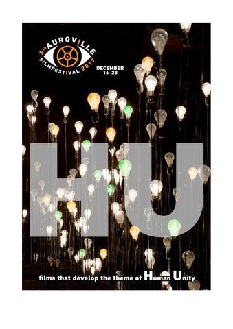 5th Auroville Film Festival - catalogue HU -
