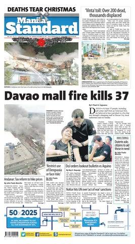 398297d06191a Manila Standard - 2017 December 25 - Monday by Manila Standard - issuu