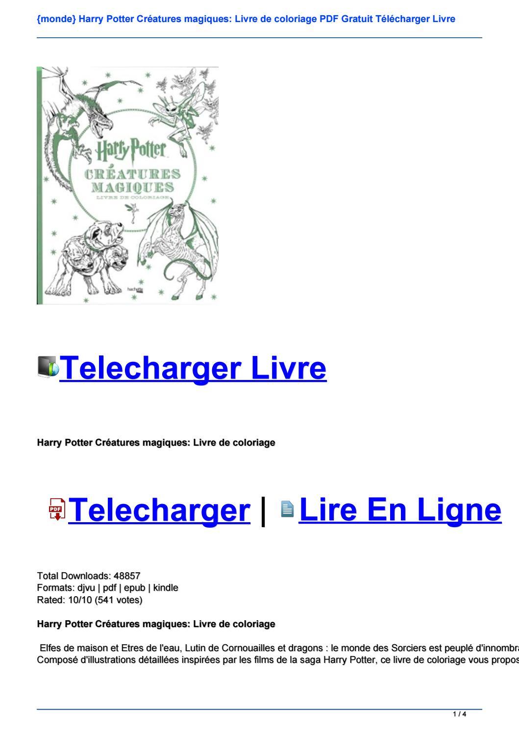 Coloriage en ligne harry potter imprimer et obtenir une coloriage gratuit ici - Harry potter livre pdf gratuit ...