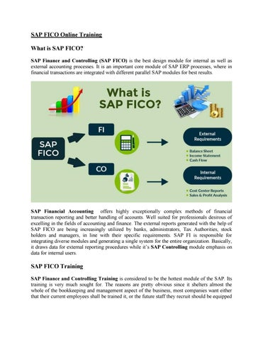 SAP FICO Training Material by amrutasapvits - issuu