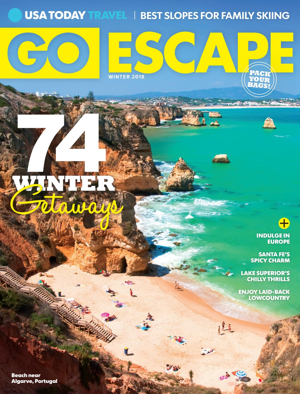 Go Escape Winter 2018 By Studio Gannett Issuu