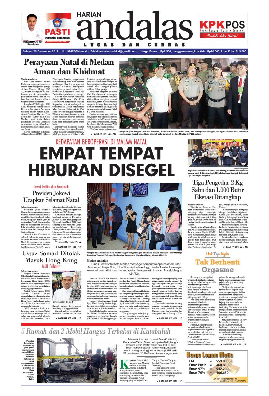 Epaper andalas edisi selasa 26 desember 2017 by media andalas - issuu 1ab332e37f